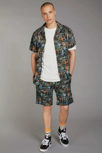 BOBBY Pleat Short - Komodo