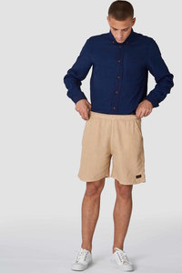 Leinen Shorts - Bidatsu - Chai Tea  - Kings Of Indigo
