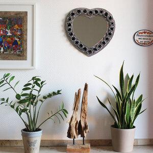 Spiegel Herzform mit Rosen - Mitienda Shop
