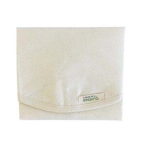 Bio Baumwolle Sandwich- und Lebensmittelverpackung rund - A Slice of Green