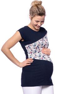 KYRA Shirt kurzarm zweifarbig aus Bio Baumwolle - Milchshake