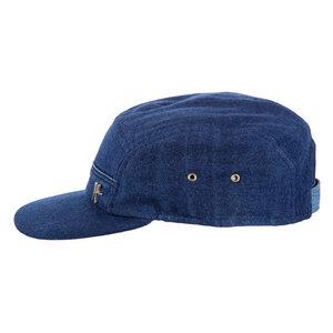"5-Panel-Cap ""Nugget"" aus Jeans - dunkelblau - ReHats Berlin"