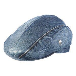 """Flatcap """"Jolly Joe"""" aus Jeans - blau - ReHats Berlin"""