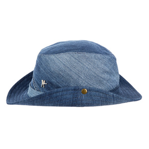 "Cowboyhut ""Wild Bob"" aus Jeans - blau - ReHats Berlin"