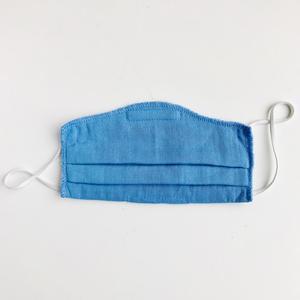Doppelpack - Behelfsschutzmaske/Mund-und Nasenmaske für Kinder aus Bio-Musselin Baumwolle  - Peter Jo Kids