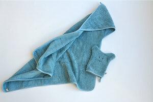 Badehandtuch-Set aus Biobaumwolle für Babies und Kinder - studio bumbuli