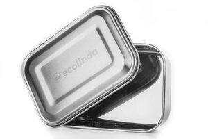 Brotdose aus Edelstahl BALI + Nylonband - ecolinda