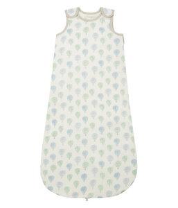 Baby Schlafsack blau/grün oder rosa/grau Bio Baumwolle - sense-organics