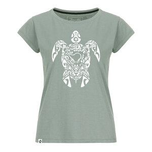 Tribal Turtle Damen T-Shirt - Lexi&Bö
