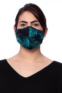 Wendbare Gesichtsmaske aus Bambusfaser - Milchshake