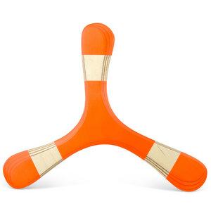 TROLL - Bumerang für Anfänger und Kinder aus Holz, Rechtshänder*innen - LAMEY bumerang
