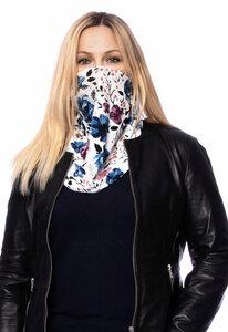 Multifunktionstuch Wende-Loop Gesichtsmaske aus hautfreundlichen Modal & Bambusfaser (One Size) - Milchshake