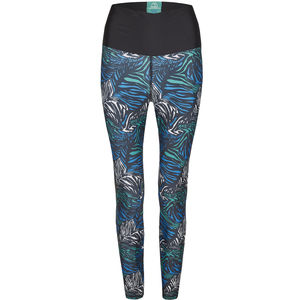 ESSENTIAL LEGGING - aus recyceltem Polyester mit Print - nice to meet me