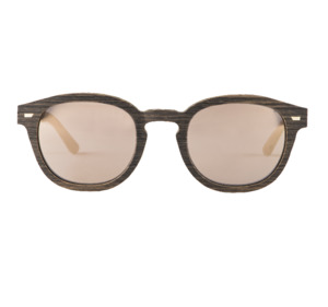 TED NOCE-MULTI BLACK/MAT GOLD MIRR - Wewood