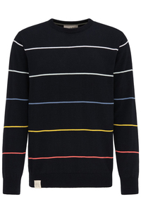 Knit Crew Neck #STRIPES - recolution