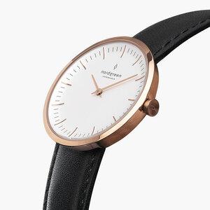 Armbanduhr Infinity Roségold - Veganes Lederarmband - Nordgreen Copenhagen