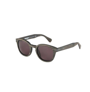 DIONE IROKO / BROWN SOLID TINTED POLARIZED - Wewood