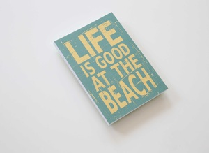 Blockberg Notizbuch Design 'beach' - BLOCKBERG®