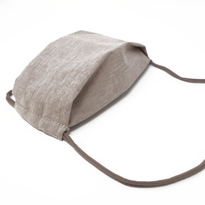 Gesichtsmaske Beige - aus nachhaltiger Baumwolle - anna dezet