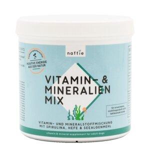 Vitamin & Mineralstoffmischung für Hunde, 500g - naftie