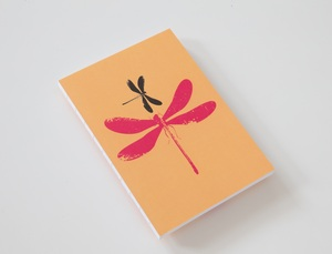 Blockberg Notizbuch Design 'dragonfly' - BLOCKBERG®