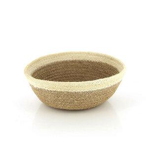 Brotkorb Bowl aus Jute klein - Mitienda Shop