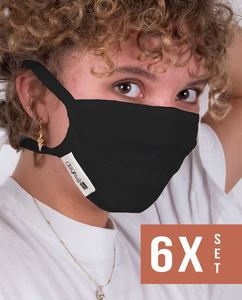 Mund- und Nasenmaske 6er Bundle #goodforyou - degree