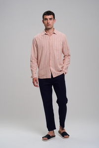 Linen Shirt #STRIPES - recolution