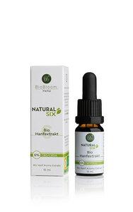 6 Prozent Bio CBD Öl – Natural SIX 10ml - BioBloom