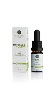 4 Prozent Bio CBD Öl – Natural FOUR 10ml - BioBloom
