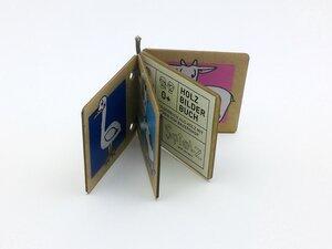 Holzbilderbuch - SPIELZ - Spiel mit Zirbenholz