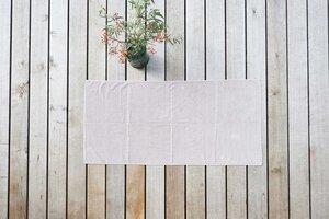 Handtuch Tilda - Duschtuch Bio-Baumwolle - #lavie