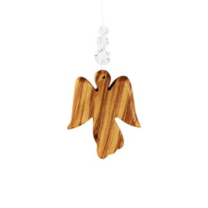 Fensterdeko Engel mit 3 Perlen, Mobile - Mitienda Shop