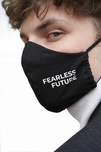 Maske Fearless Future Black  - PHYNE