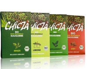 Chizca Biokaugummi 4er Pack - Chicza