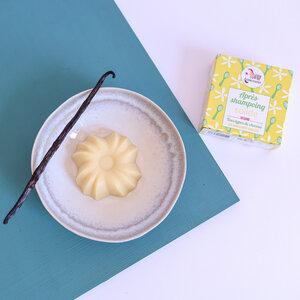 Lamazuna Fester Conditioner – Vanille-Pflegespülung für alle Haartypen - Lamazuna
