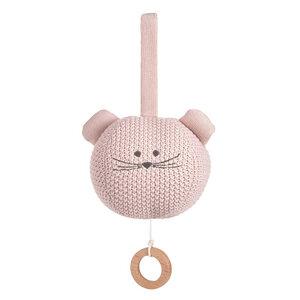 Lässig Spieluhr -tolles Geschenk  Knitted Musical, Little Chums, Hund,Katze oder Maus - Lässig