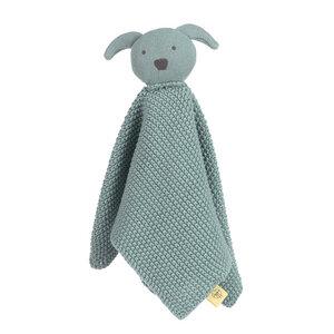 Lässig Baby Schmusetuch,Schnuffeltuch -tolles Geschenk  Knitted Musical, Little Chums, Hund,Katze oder Maus - Lässig