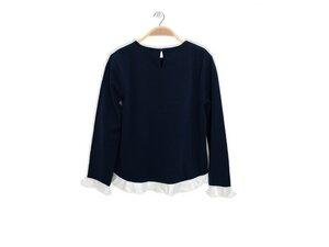 Bio-Baumwolle Shirt Candy in Blau - Peter Jo Kids