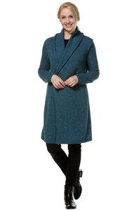 Alpaka Strick-Jacke lang aus Peru - PAULINA - Apu Kuntur