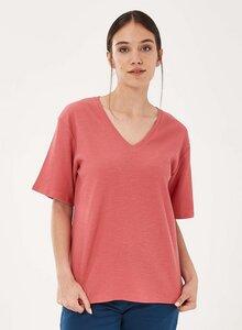 T-Shirt aus Bio-Baumwolle mit halblangen Ärmeln - ORGANICATION