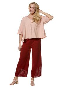 Strick-Hose mit elastischem Bund aus Pima-Baumwolle - CALADO  - Apu Kuntur