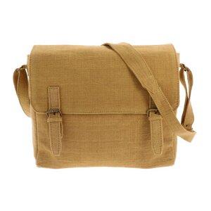 Umhängetasche aus handgewebter Baumwolle - Bihan - AuraQue