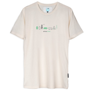 T-Shirt Let's go outdoor - Gary Mash
