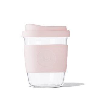 Coffee to go Becher aus mundgeblasenem Glas (8oz / 236ml) - SoL Cups