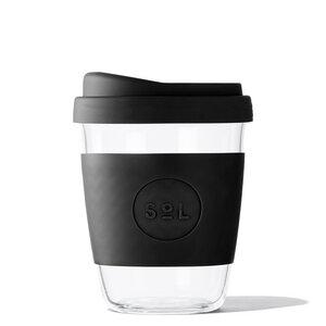 Glaskaffeebecher to go – leicht, plastikfrei, mundgeblasen (12oz / 355ml) - SoL Cups
