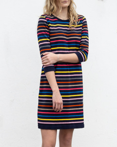 Flora Cotton Stripe Dress - Le Pirol