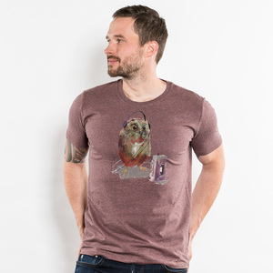 Artourette – Walkman Waldkauz - Mens Organic Cotton T-Shirt - Nikkifaktur