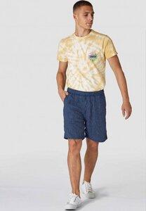 Leinen-Shorts - Bidatsu - Stripe Linen Indigo - Kings Of Indigo