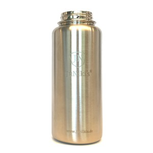 Edelstahl Trinkflasche isoliert 1 Liter MixnMatch: JuNiki´s® eco line  - JN JuNiki's